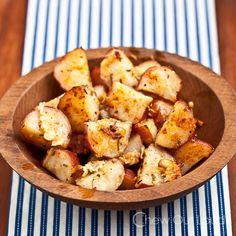 Garlic Butter Herb Roasted Potatoes 3