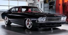Chevy's Chevelle Slammer Is An Old Skool Concept With New Tricks Up Its Sleeve #Chevrolet #Chevrolet_Chevelle