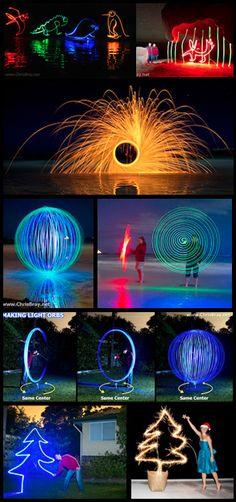 Chris Bray - Painting with light tutorial.