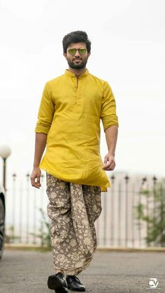 Dhoti Pants are extremely fashionable and are dapper, smart and comfortable. Here is all you need to know about styling dhoti pants. Kurta Pajama Men, Kurta Men, Wedding Kurta For Men, Wedding Men, Wedding Blog, Designer Kurtis, Boys Kurta Design, Mens Ethnic Wear, Indian Groom Wear