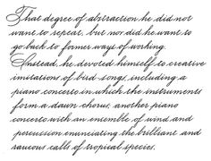 Handwritten Business Script - Calligraphy Discussions - The Fountain Pen Network Handwriting Examples, Improve Handwriting, Handwriting Styles, Calligraphy Handwriting, Handwriting Practice, Pretty Handwriting, English Handwriting, Fancy Writing, Handwriting Analysis