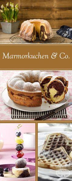 Marmorkuchen ist bei Groß und Klein sehr beliebt. Aber wie wäre es mal mit einem besonders schön dekorierten Marmorkuchen oder einem Marmorkuchen mit Erdbeeren? In der Dr. Oetker Versuchsküche haben wir verschiedene Marmorkuchen oder Kuchen und Desserts mit einer marmorierten Optik für Sie entwickelt, die Sie und Ihre Gäste begeistern werden. Wir wünschen Ihnen viel Spaß und gutes Gelingen.