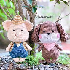 Amigurumi Little Piglet Free Crochet Pattern – Free Amigurumi #amigurumi #amigurumifree #amigurumifreepattern #amigurumifreepdf #amigurumicrochet #crochetpattern #freeamigurumi #freecrochet #crochet #freeamigurumipatterns #amigurumipatterns Crochet Amigurumi Free Patterns, Free Crochet, Crochet Toys, Crochet Baby, Knit Crochet, Knitting Patterns, Knitting Toys, Baby Piglets, Otters Cute