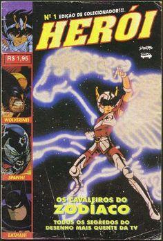 revista herói número 1 | Revistas Herói da Nº01 a Nº54 - Saga dos Cavaleiros do Zodíaco ...