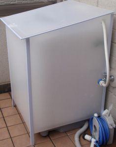 プラダン 洗濯機カバー