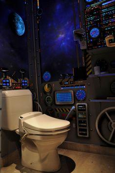 Envie de vous croire dans un vaisseau spatial en allant on petit coin ?