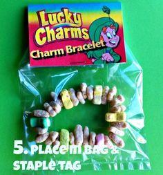 Lucky Charms Charm Bracelet Treat. TodaysMama.com
