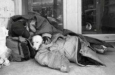 Homeless but not friendless.