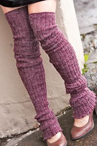13fe878b848 Super-Long Ribbed Leg Warmers - suddenly I am SO into leg warmers as it