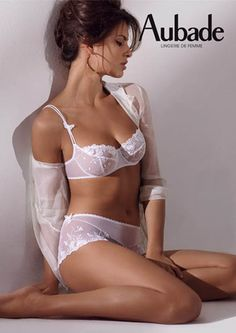 Aubade is one of my favorite French Lingerie brands.