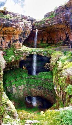 Cascade des trois ponts - Liban