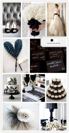 Black and white theme inspirations :) <3