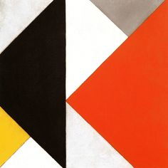 Dutch Constructivism - Theo van Doesburg's painting Counter-composition XII, 1925/26