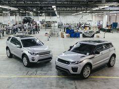 Canadauence TV: Evoque fabricado no Brasil, Jaguar Land Rover inau...