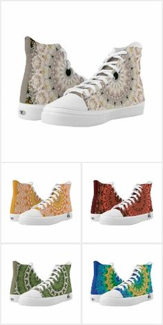 """Our """"Wearable Art Accessories""""  collection features mandala sneakers, unique necklaces and more."""