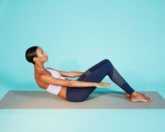 8 Barre-Inspired Abs Exercises You Can Do at Home