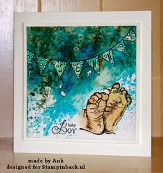 stampinback.nl : Bister baby kaartje