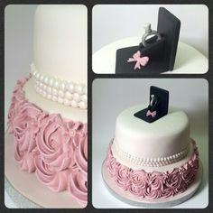 Cake Compromiso #PrityCakes #fondantcakes #icingcakes #compromiso #anillo