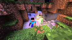 Minecraft HEROBRINE vs SLENDERMAN!