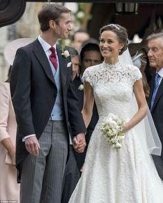 Pippa's Wedding!  God Bless them!  (: