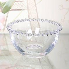 Set Of Four Beaded Glass Bowls