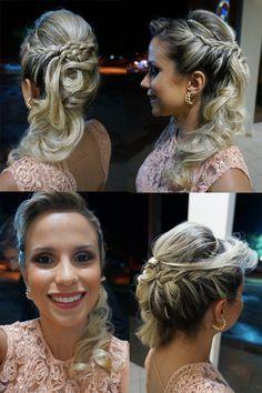 penteado de festa madrinha 2015