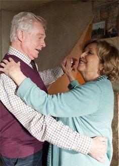Derek Jacobi & Anne Reid in Last Tango In Halifax.