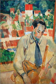 Rik Wouters (1882-1916) was een Belgisch beeldhouwer, kunstschilder, tekenaar en etser. Hij wordt tot de stroming van het fauvisme gerekend.