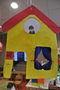 Huis knutselen met eigen foto en eigen huisnummer