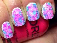Nails by an OPI Addict:  Watercolors!