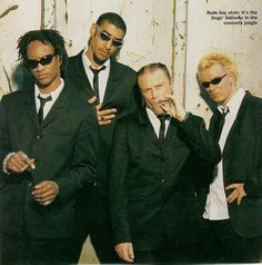 The Prodigy - Liam Howlett, Keith Flint, Maxim Reality & Leeroy Thornhill.