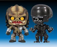 Alien vs. Predator Funko Pop! Vinyl Figures