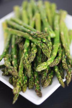 Simple Roasted Asparagus // One Lovely Life