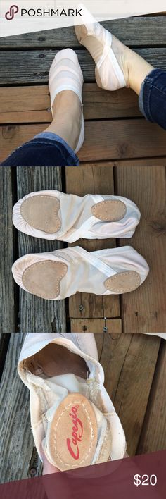 Capezio Split Sole Ballet Slippers Brand new! Size 10W Capezio Shoes Slippers