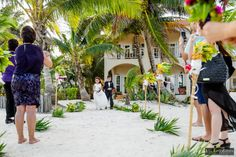 Private Beach Wedding Belize | Ambergris Caye | Destination Wedding | Flower Girl and Ring Boy | Jose Luis Zapata Photography