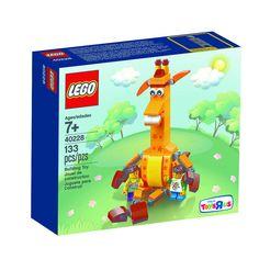 Lego 40228 Geoffrey Giraffe & Friends Toys R Us Exclusive Set New/Sealed 133pc  #LEGO