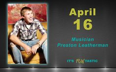 Come dance to the music on Tuesday, April 16!