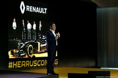 RENAULT F1 PRESENTAZIONE 2016, Carlos Ghosn (FRA) Chairman of Renault. 03.02.2016.