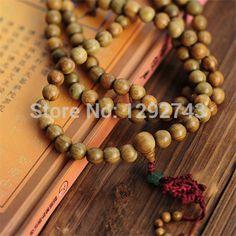 Chinese Knot 108 Sandalwood Buddha Beads Jewelry For Men