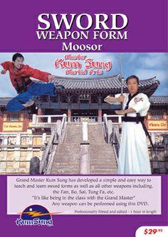 Kum Sung Martial Arts - Sword Form Moosor