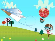 Brownies who are doing the Brownie Quest program learn to Explore, Link Arms and Fly into action (ELF!). For more fun, have them make this downloadable paper airplane and explore the nature of flying.