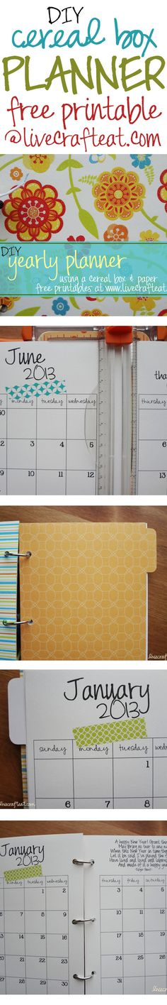 66 Best Planners Images In 2019 Free Printables Organizers