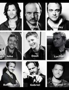 Supernatural Boys!! So everyone knows who we are talking about when we go all fandom together. lol