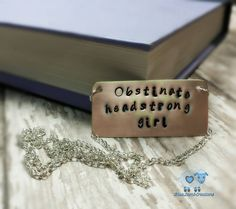 Calling all Austen Babes !!  *the perfect gift for the teacher, librarian, author, or just all-around book-lover in your life :)  *because this is handcrafted there will  be a slight variation from piece to piece, so your necklace may differ just a bit from the one pictured.