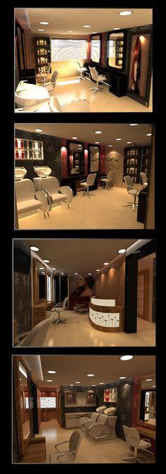 -beauty salon beautiful but lightening would be terrible!