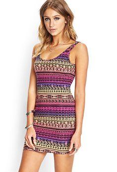 Tribal Print Knit Dress | FOREVER21 - 2000071748