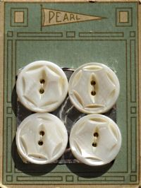 historical novelPearl buttons card another Plastic Button World
