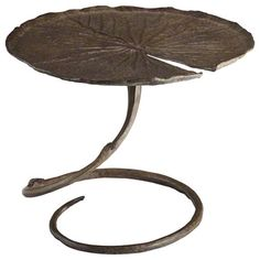 The Lotus Table Captures The Nuance Of Nature In Working Sculpture   Baker  Furniture #2013