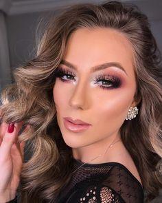 Gabriel Moura is a very talented makeup artist from Paraná, he has a glam and powerful makeup style. Glam Makeup Look, Goth Makeup, Prom Makeup, Gorgeous Makeup, Pretty Makeup, Simple Makeup, Bridal Makeup, Wedding Makeup, Beauty Makeup