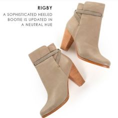 Joie Rigby High Heeled Booties tan cream sz 9.5 Joie Rigby heeled booties in a tan cream color. Size 9.5 women's. Super comfy. High heels. Leather outer. Slightly worn but in excellent condition. Joie Shoes Ankle Boots & Booties